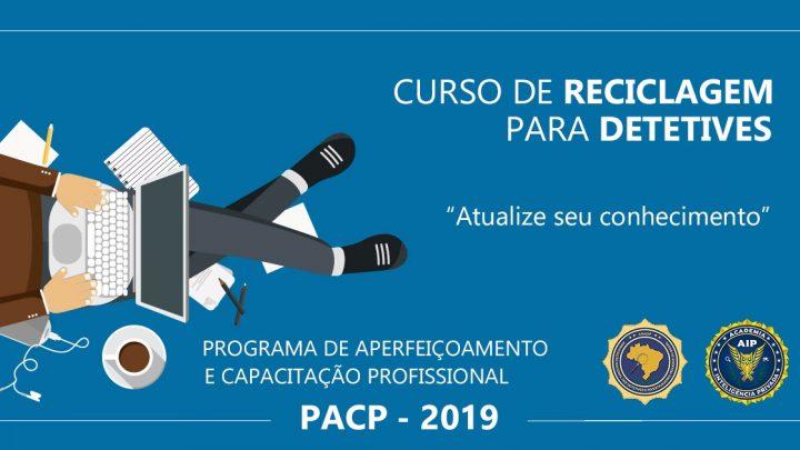 PROGRAMA DE APERFEIÇOAMENTO E CAPACITAÇÃO PROFISSIONAL PARA DETETIVES